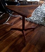 Unusual side occasional table George Nakashima