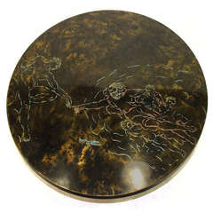 Rare and Large Bronze Coffee Table by Philip and Kelvin Laverne Philip & Kelvin  Laverne
