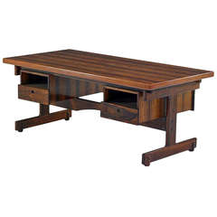 Brazilian Rosewood Desk by Sergio Rodrigues Sergio  Rodrigues