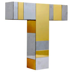 Cityscape table lamp Paul Evans for Directional Paul  Evans