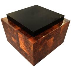 Burl Wood Patchwork Table by Paul Evans Paul  Evans
