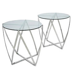 Pair of Side Tables by John Vesey John  Vesey